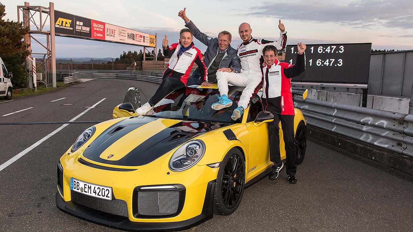 Porsche 911 GT2 RS Nurburgring 2017 lap record