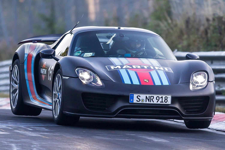 Porsche 918 Spyder Nurburgring