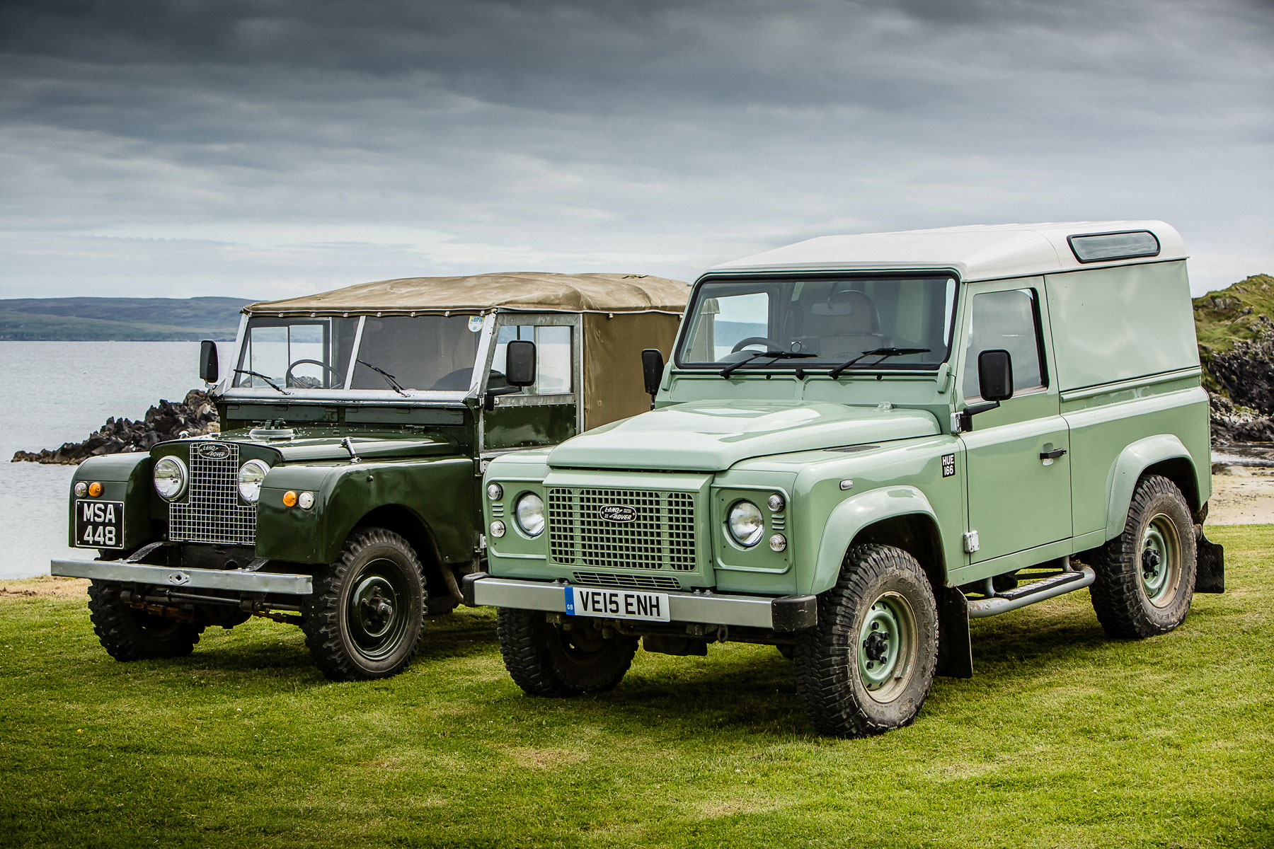Land Rover Defender Heritage Edition Review 2015 First Drive