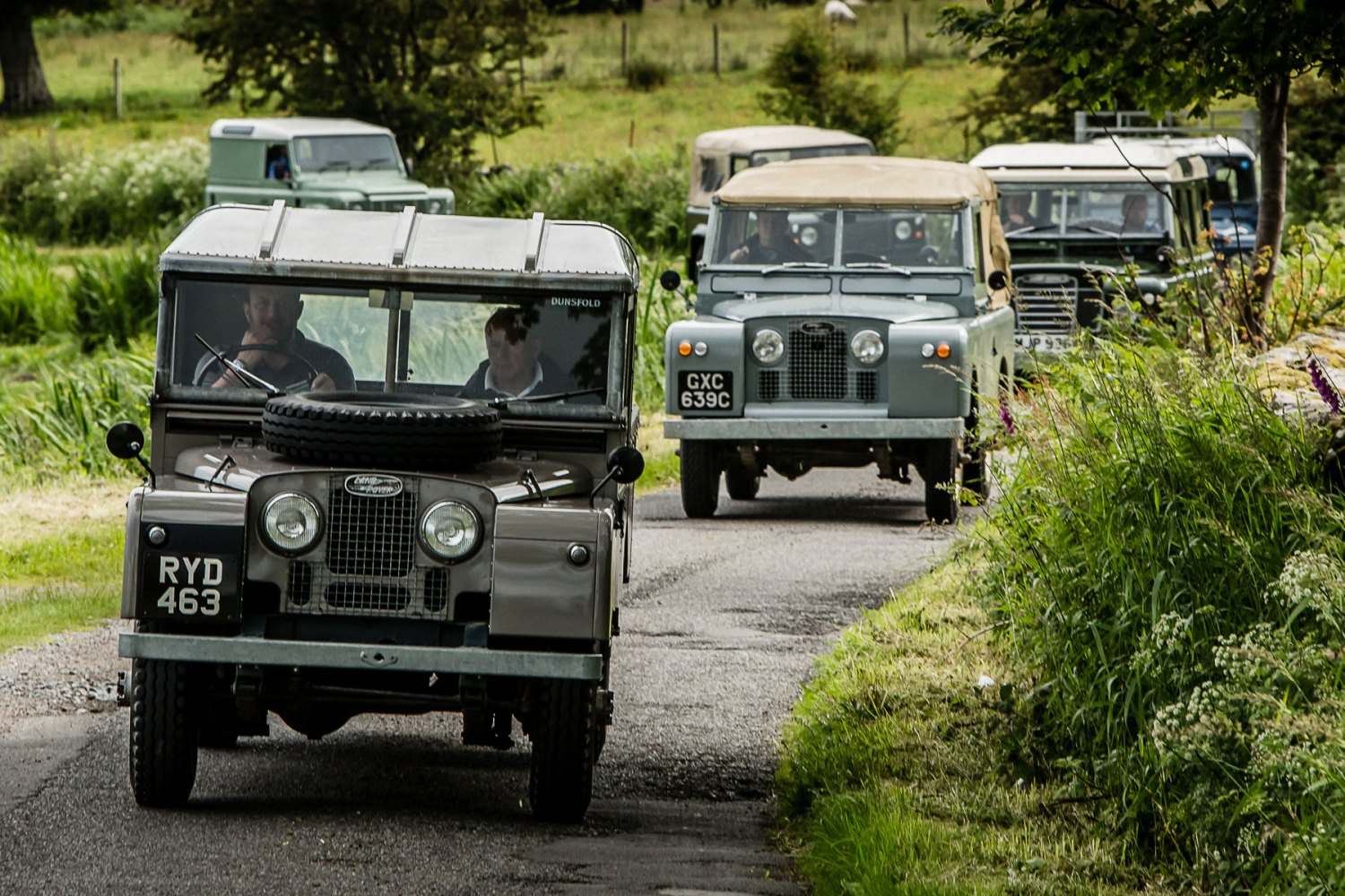 We drive Land Rover's history