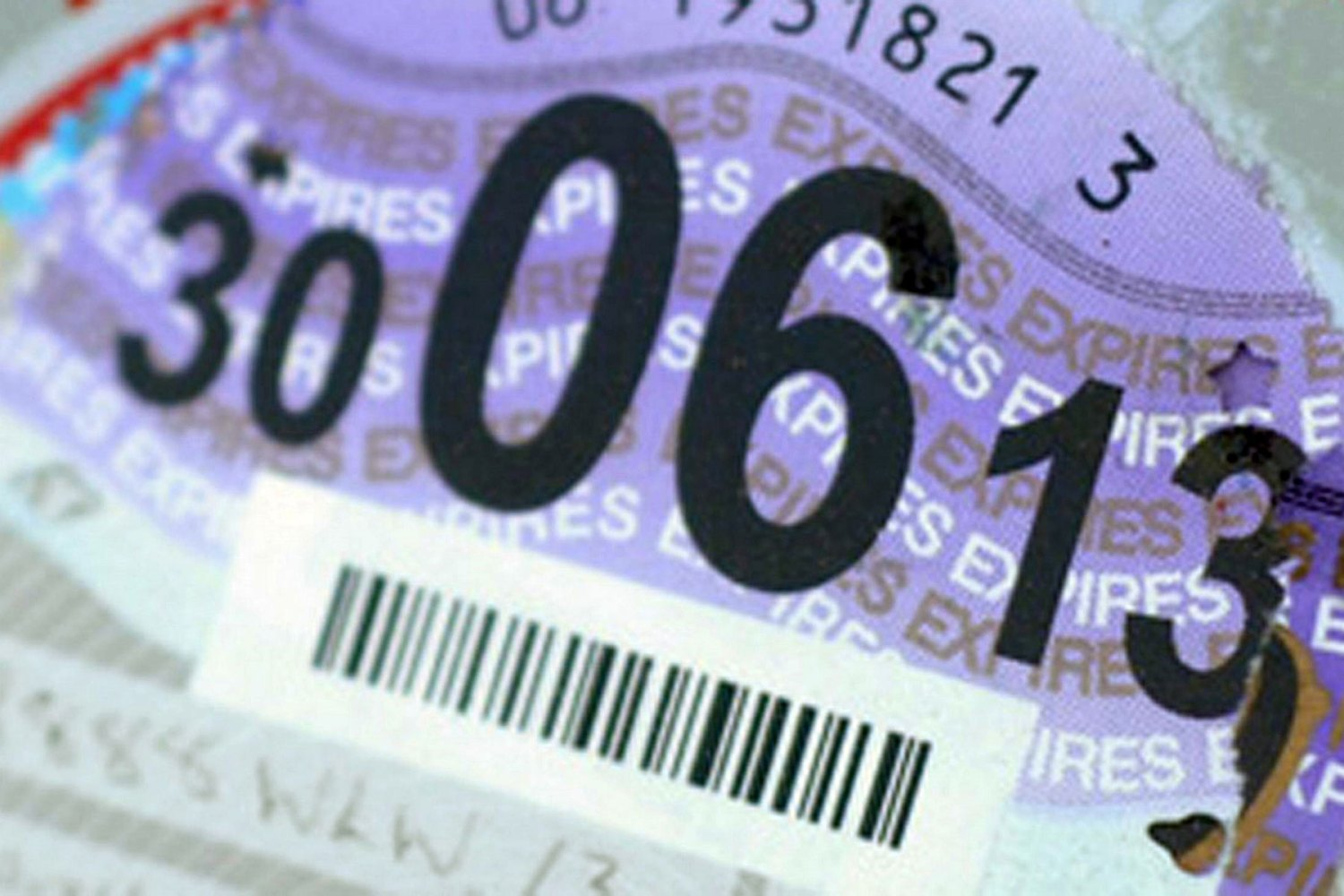 The end of the tax disc
