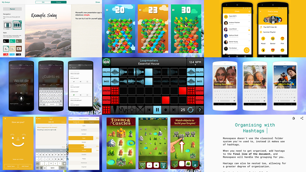 The best new mobile apps for August 2015
