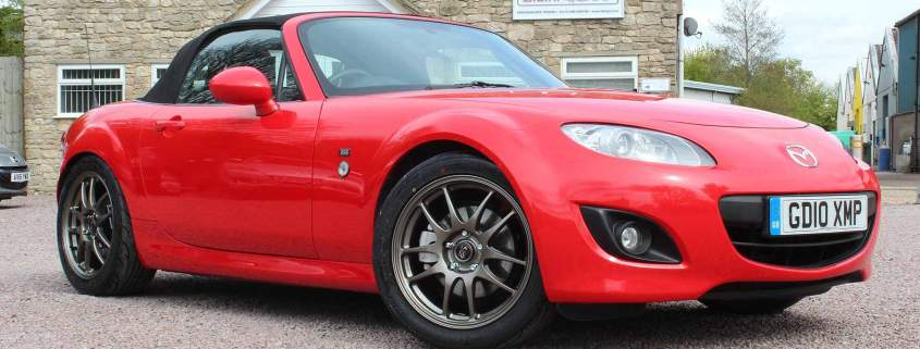 Fancy a bargain 225hp Mazda MX-5 runout special?