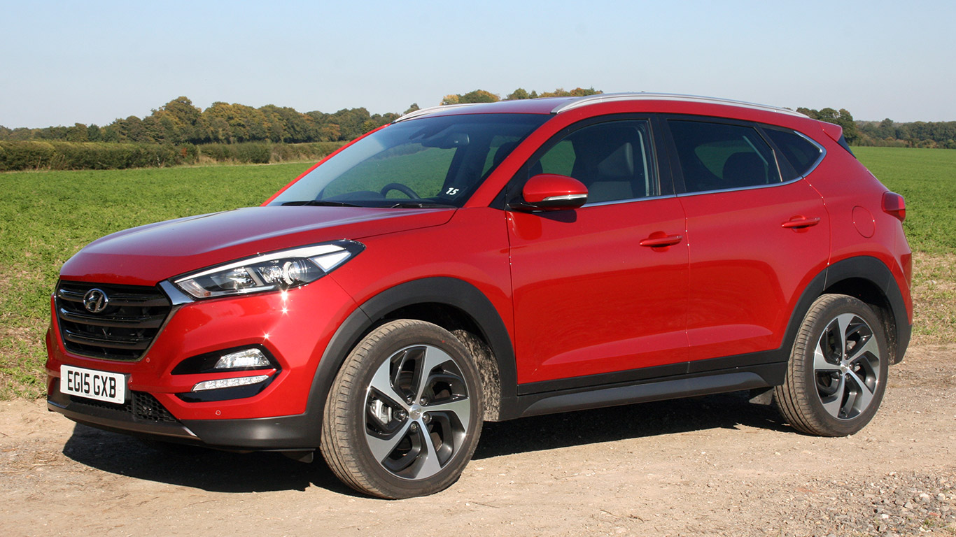 Hyundai Tucson 1 6 T-GDI: Two-Minute Road Test