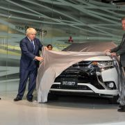 Boris Johnson takes covers off new Mitsubishi Outlander PHEV