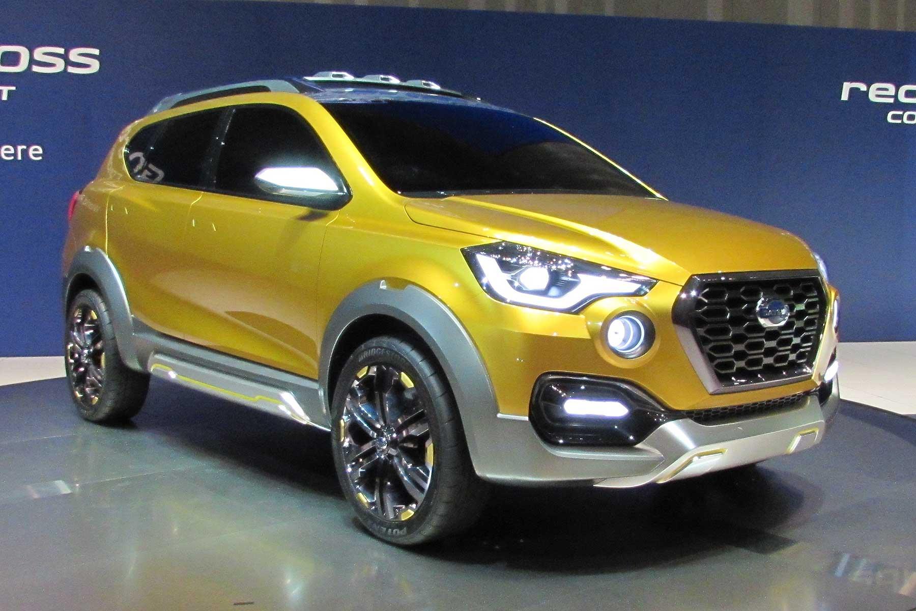 Datsun Unveils New Go-Cross Concept: Is It A Dacia Duster