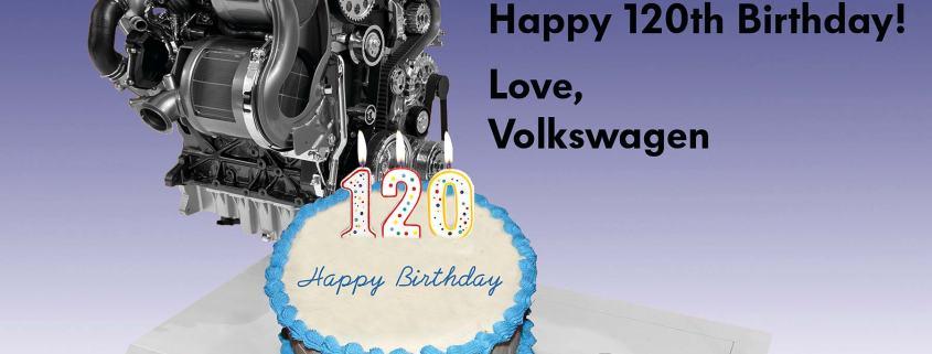 Volkswagen Diesel Engine With Cake