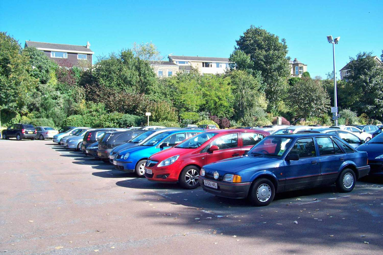 Wilderness car park