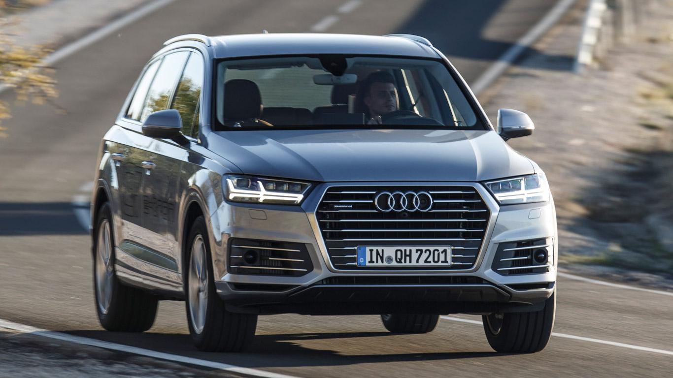Audi Q7 e-tron: pub fact
