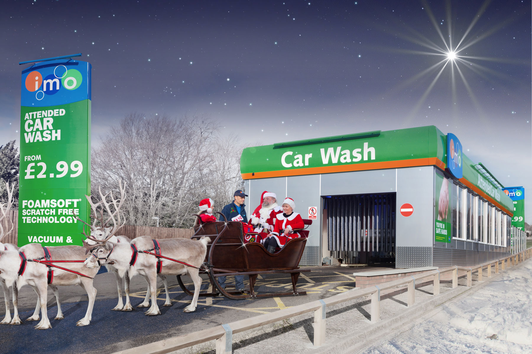 MRAdvent 2 Dec: When Father Christmas had a wash | Motoring Research