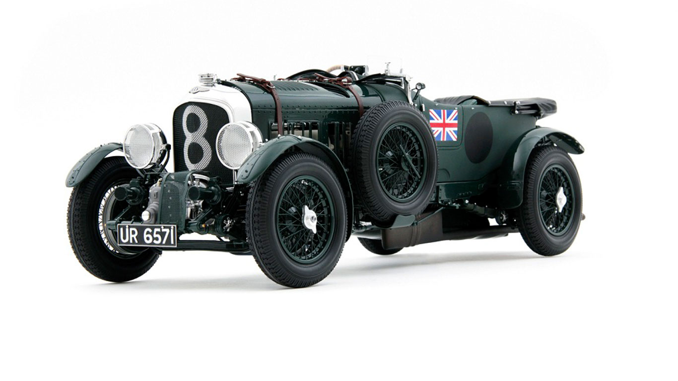 Bentley Blower scale model