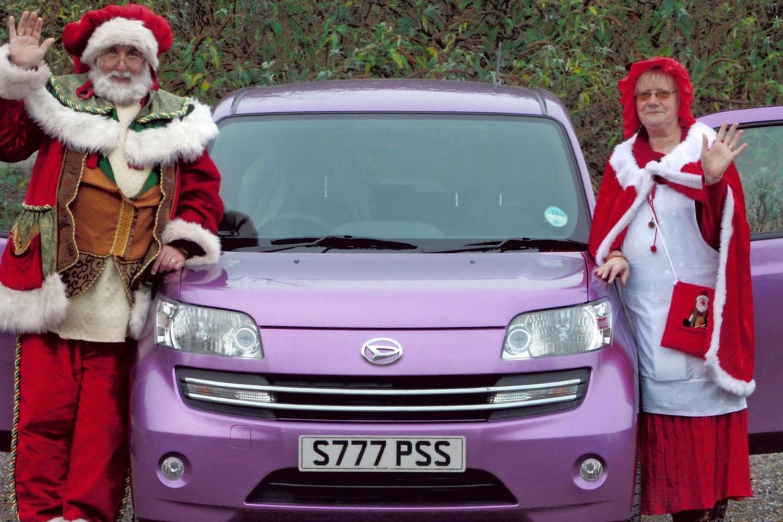 Daihatsu Materia Christmas