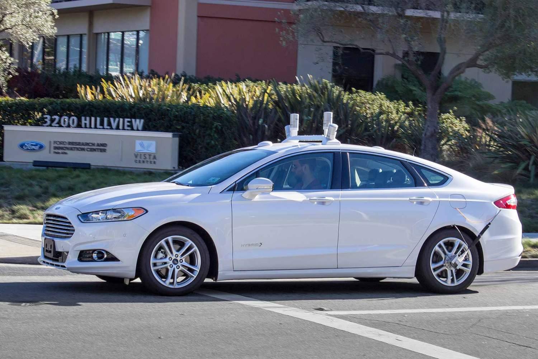 Ford Fusion autonomous car