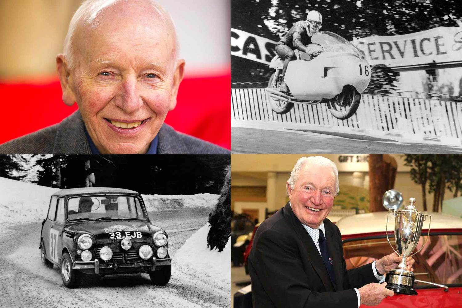 John Surtees and Paddy Hopkirk