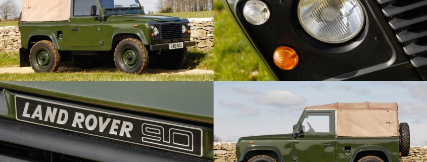 Retro Road Test: Land Rover 90 40th Anniversary