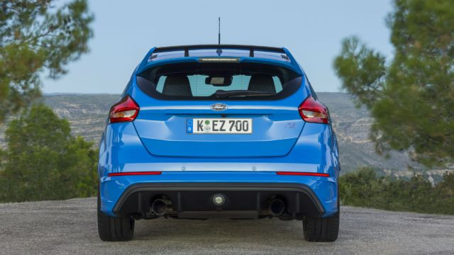 2016 Ford Focus RS: Running costs