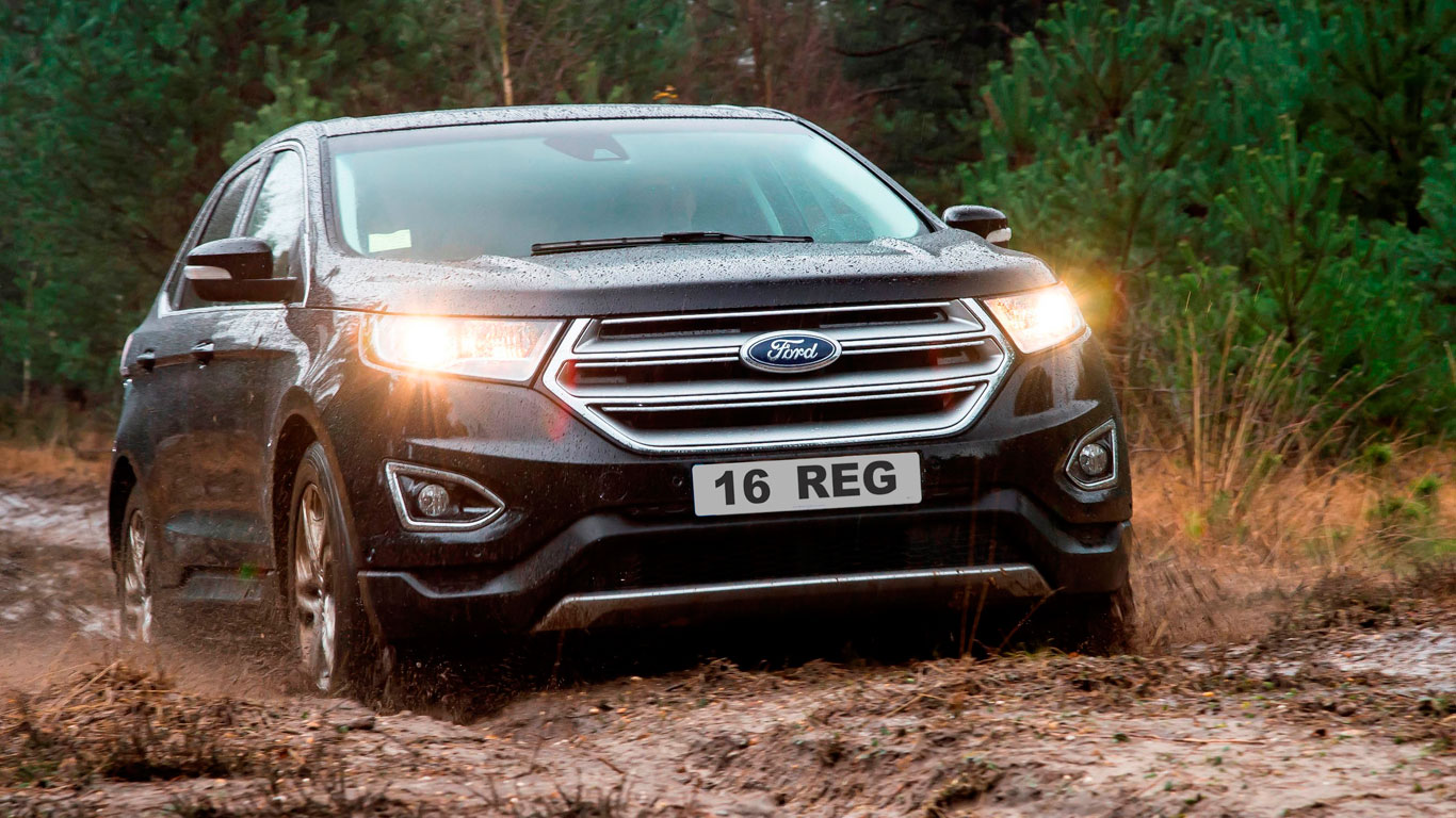 2016 Ford Edge hits UK