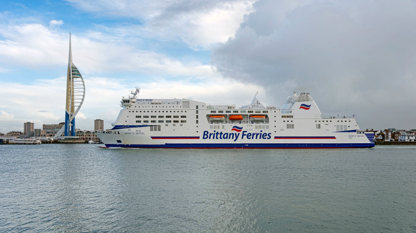 Brittany-Ferries-Mont-St-Michel-in-Portsmouth