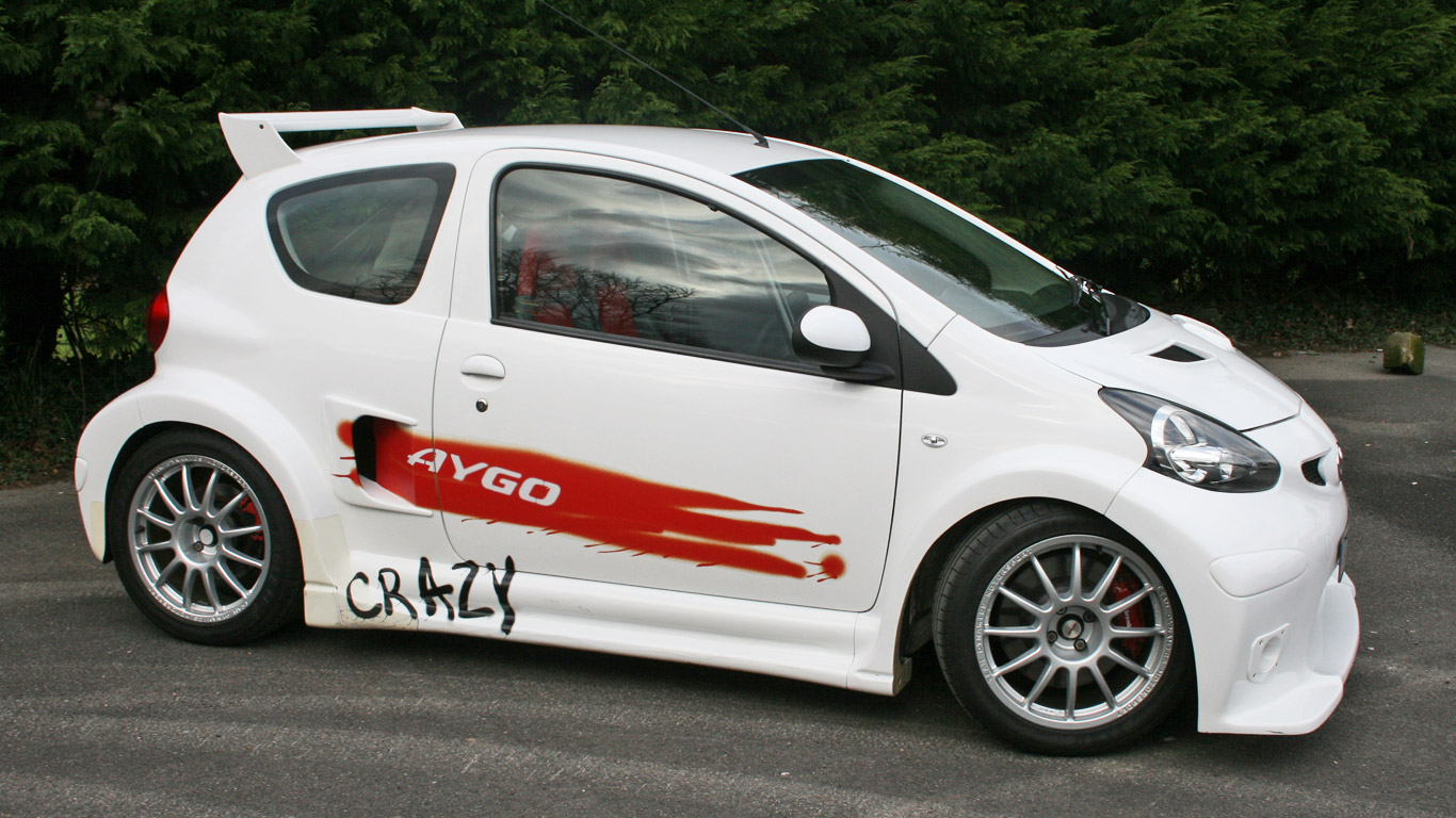Toyota Aygo Crazy: Two-Minute Road Test