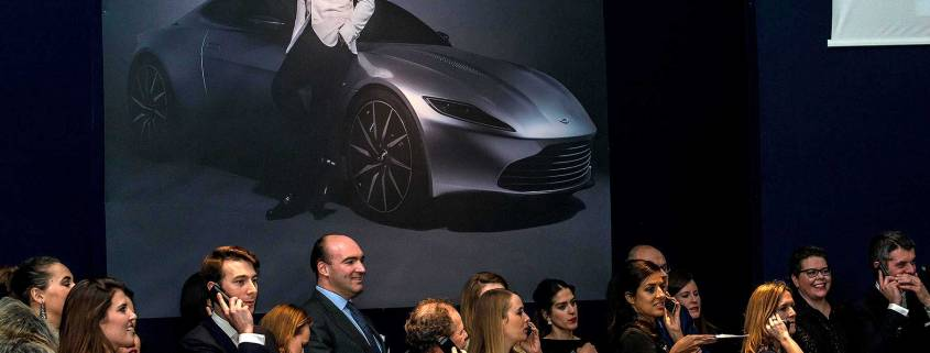 Aston Martin DB10 auction