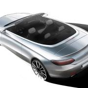 Mercedes-Benz C-Class Cabriolet design sketch