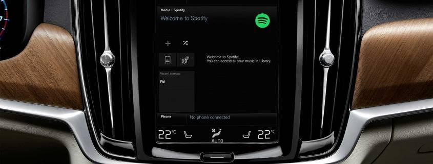 Volvo Spotify app
