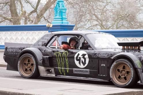 Top Gear London filming March 2016