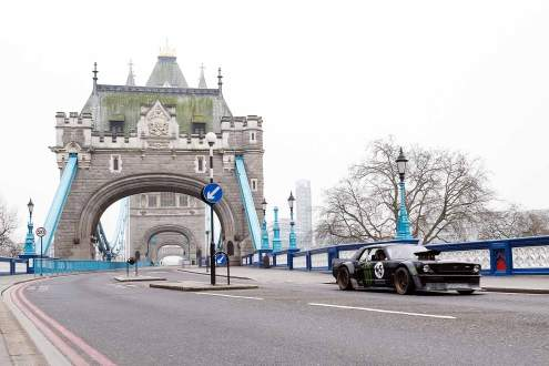 Top Gear London filming March 2016