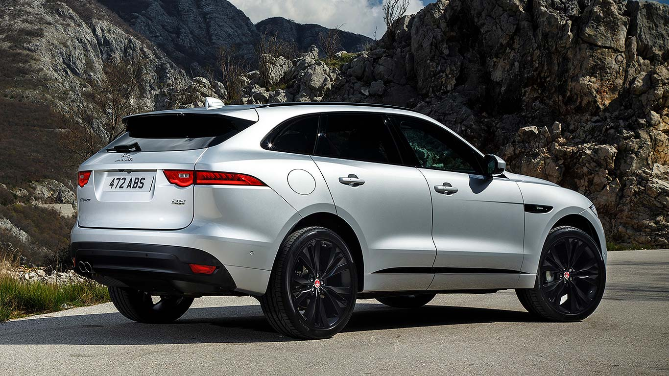 2016 jaguar f pace review first drive motoring research. Black Bedroom Furniture Sets. Home Design Ideas