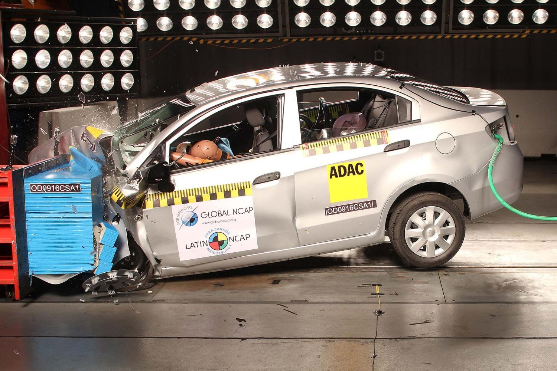 Chevrolet Sail Global NCAP crash test zero stars
