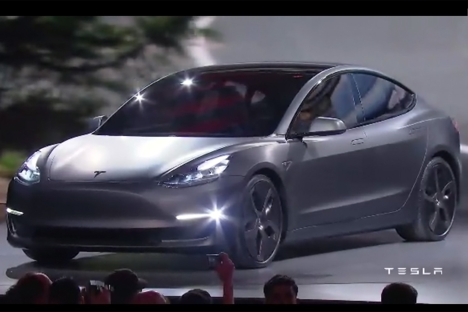Tesla Model 3 first look