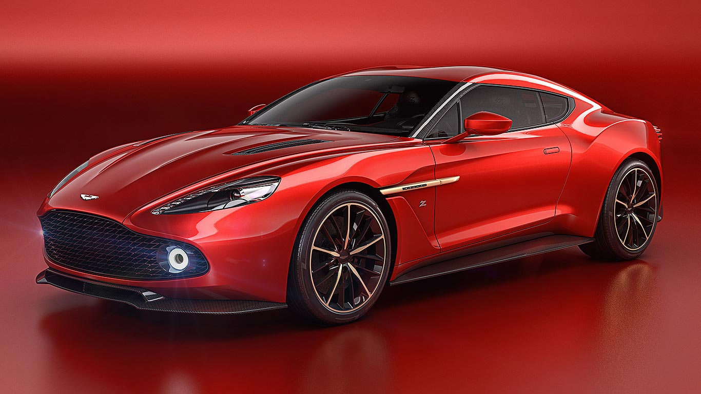 Aston Martin Vanquish Zagato revealed: the most beautiful Aston ever?