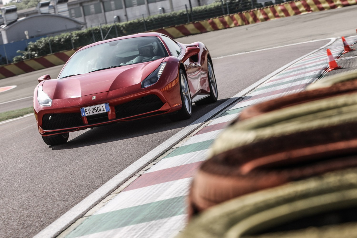 This is what it's like to drive a Ferrari 488 GTB around Fiorano
