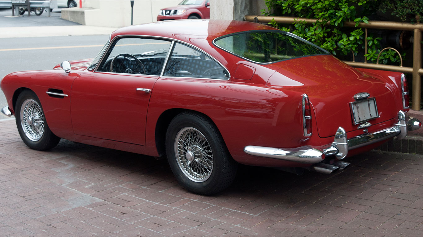 1960 Aston Martin DB4 S1: 184% growth
