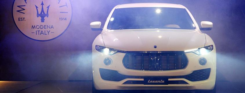 Maserati Levante UK reveal