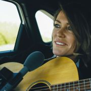 Cerys Matthews records song entirely in electric cars