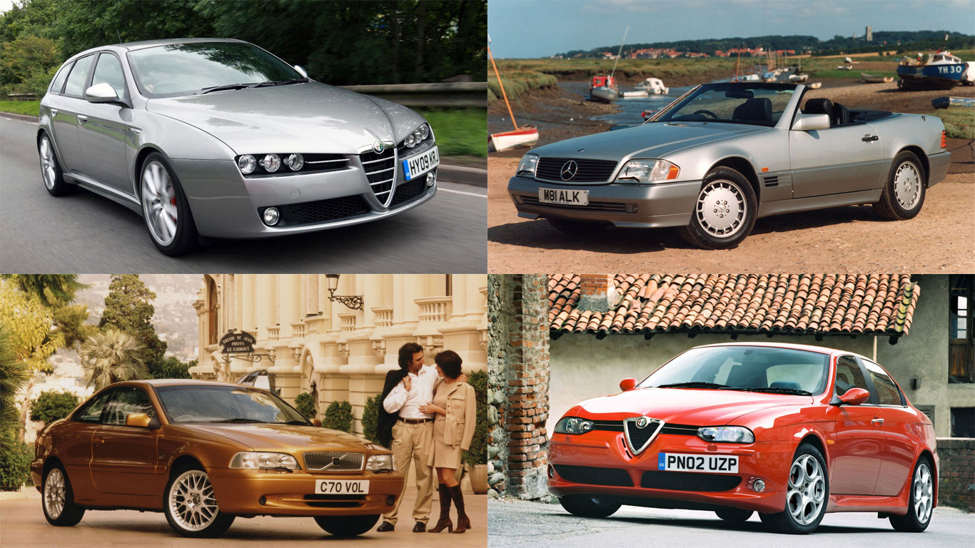 Style on a budget: the best looking used cars for £5,000