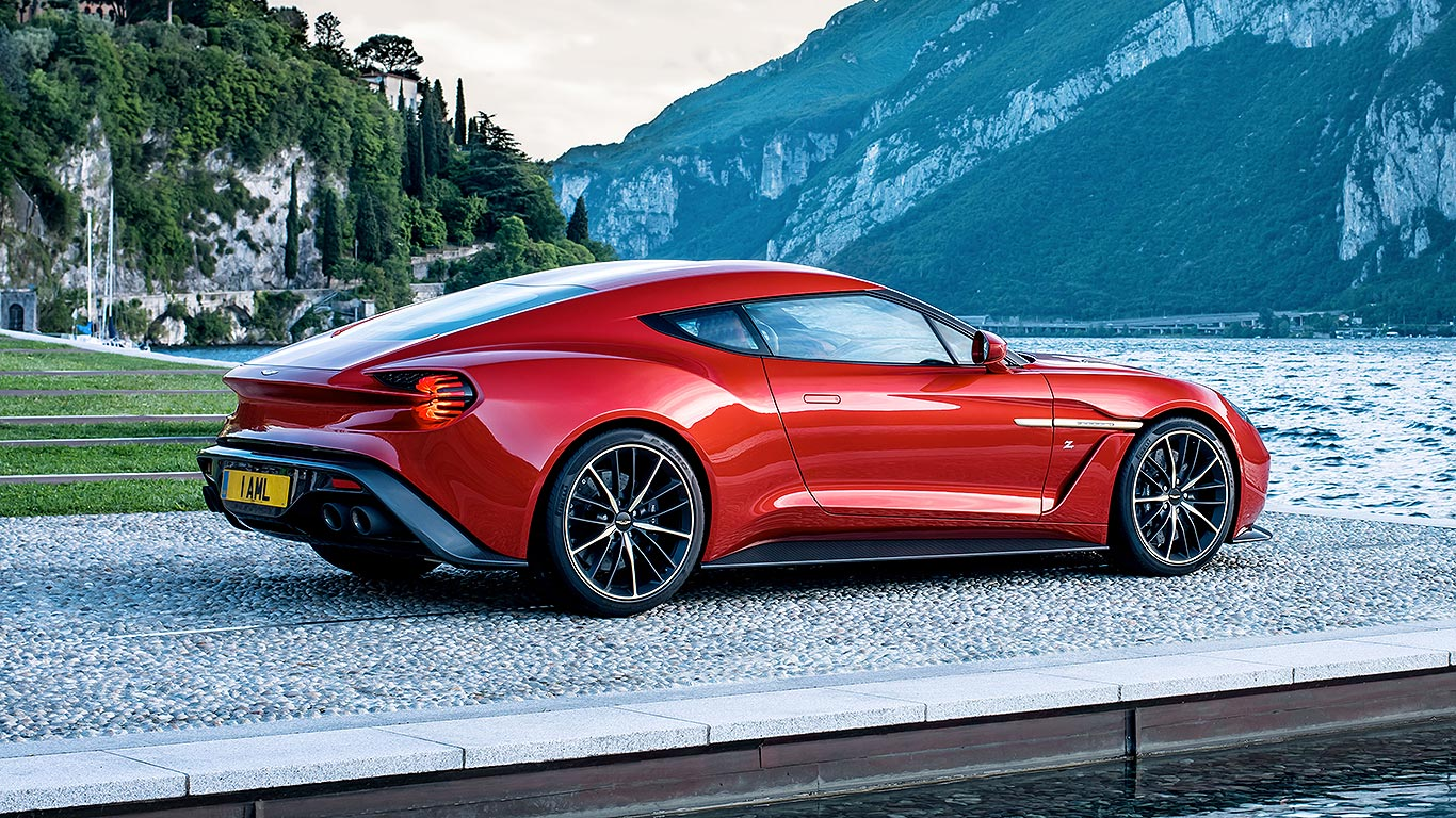 How much is an aston martin vanquish carbon 16