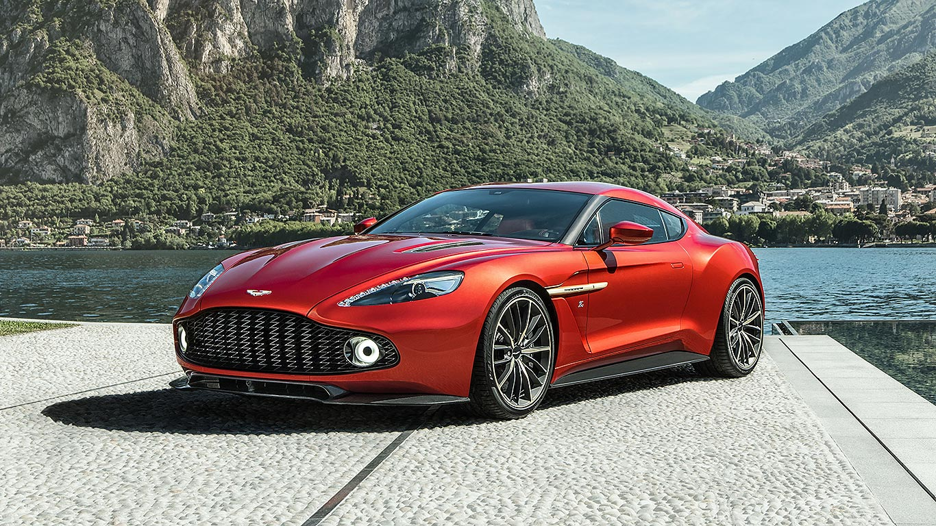 How much is an aston martin vanquish carbon 11