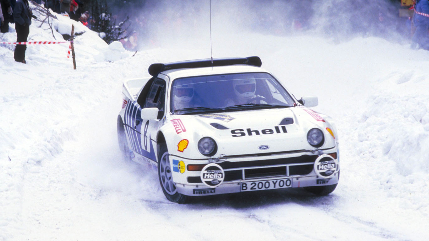 Group B Ford RS200