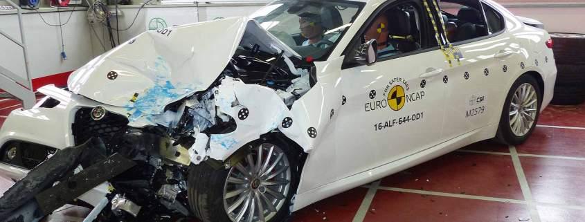 Euro NCAP Alfa Romeo Giulia 2016