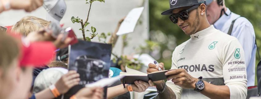 Lewis Hamilton Goodwood FoS