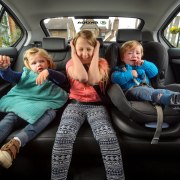 Dads travel more than 100 miles a week ferrying kids around