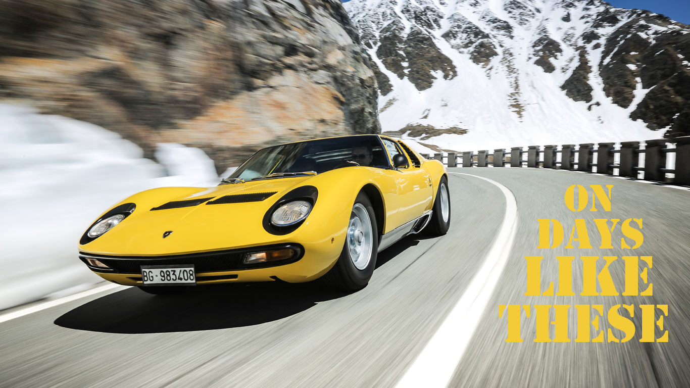 On days like these: 50 years of the Lamborghini Miura