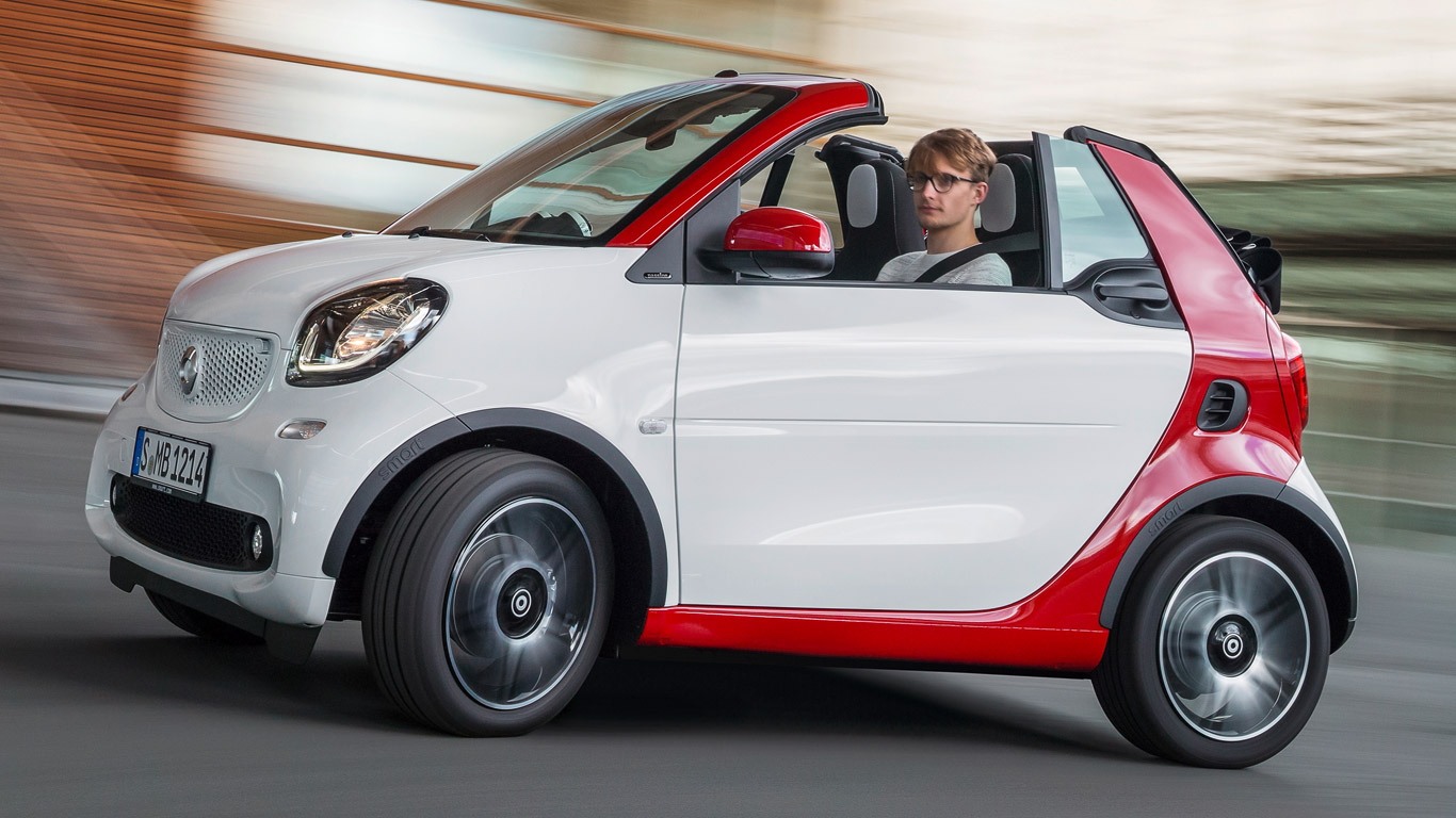 The 25 slowest new cars on sale today