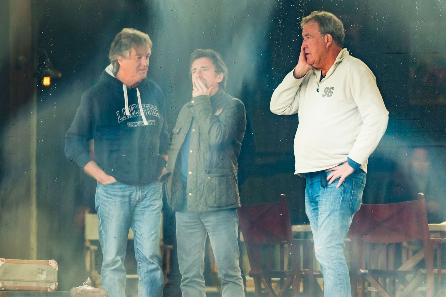 The Grand Tour: Clarkson, Hammond and May filming in Yorkshire
