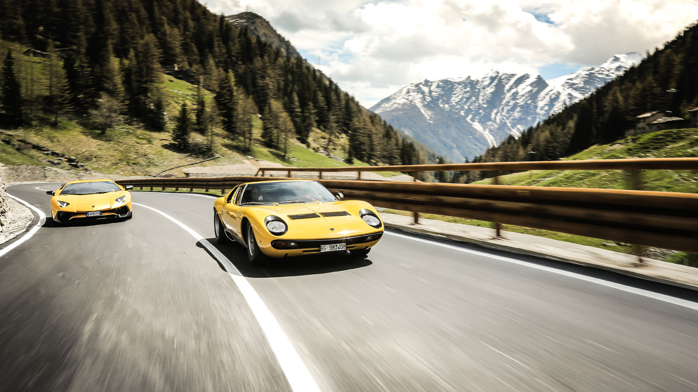 Overshadowed by the Countach