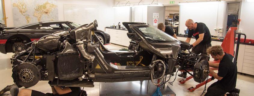Koenigsegg Nürburgring One:1 incident – the aftermath