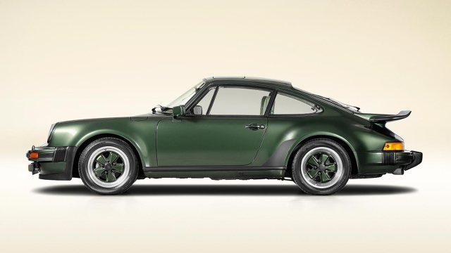 Porsche turbo history