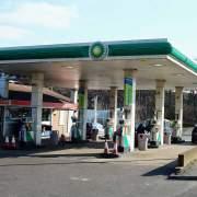 UK petrol station